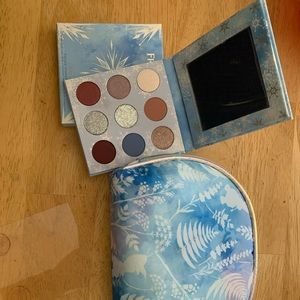 Colourpop Frozen II git set bag & eyeshadow NWB